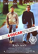 Rain Man 1988 Movie poster Dustin Hoffman