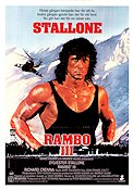 Rambo 3 1987 Movie poster Sylvester Stallone