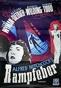 Stage Fright 1950 Movie poster Jane Wyman Alfred Hitchcock