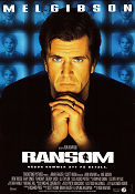 Ransom 1997 Movie poster Mel Gibson