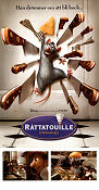 Ratatouille 2007 Movie poster