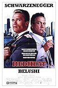 Red Heat 1988 Movie poster Arnold Schwarzenegger
