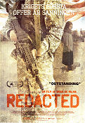 Redacted 2007 Movie poster Brian De Palma