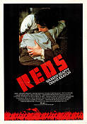 Reds 1981 Movie poster Robert Redford Warren Beatty