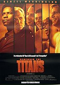 Remember the Titans 2000 poster Denzel Washington Boaz Yakin