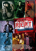 Rent 2005 poster Taye Diggs Chris Columbus