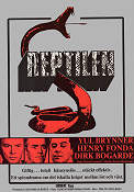The Serpent 1972 Movie poster Yul Brynner