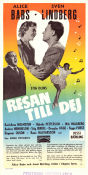 Resan till dej 1953 Movie poster Alice Babs Stig Olin