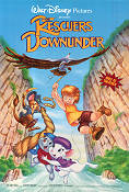 The Rescuers Down Under 1990 poster