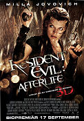 Resident Evil Afterlife 2010 poster Milla Jovovich Paul WS Anderson