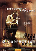 Resurrection DVD 1999 poster Christopher Lambert Russell Mulcahy