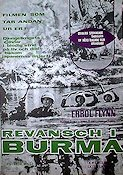 Objective Burma 1945 Movie poster Errol Flynn