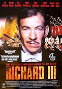 Richard III 1996 Movie poster Ian McKellen