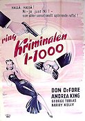 Southside 1-1000 1950 Movie poster Don DeFore
