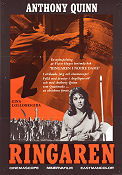 Notre-Dame de Paris 1956 Movie poster Gina Lollobrigida