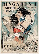 The Hunchback of Notre Dame 1923 poster Lon Chaney