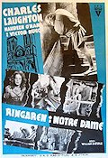 The Hunchback of Notre Dame 1939 poster Charles Laughton
