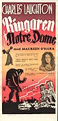 The Hunchback of Notre Dame 1939 poster Charles Laughton William Dieterle