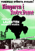 The Hunchback of Notre Dame 1940 Movie poster Charles Laughton