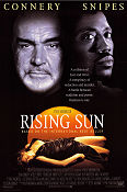 Rising Sun 1993 Movie poster Sean Connery