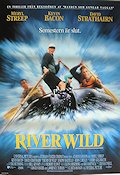 The River Wild 1994 Movie poster Meryl Streep