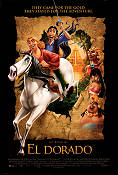 The Road to El Dorado 2000 Movie poster