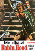 Robin Hood 1938 Movie poster Errol Flynn