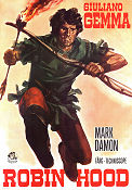 Robin Hood 1971 Movie poster Giuliano Gemma