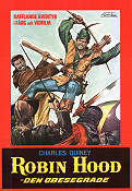 Robin Hood den obesegrade 1971 Movie poster Charles Quiney