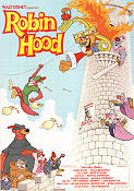 Robin Hood Disney 1974 Movie poster