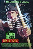 Robin Hood Men in Tights 1993 Movie poster Cary Elwes Mel Brooks