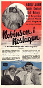 Robinson i Roslagen 1948 Movie poster Adolf Jahr