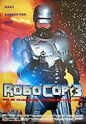 Robocop 3 1993 Movie poster Robert Burke