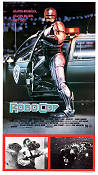 Robocop 1987 Movie poster Peter Weller Paul Verhoeven