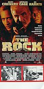 The Rock 1996 poster Sean Connery Michael Bay
