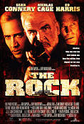 The Rock 1996 poster Sean Connery
