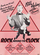 Rock Around the Clock 1956 Movie poster Bill Haley Fred F Sears