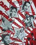 Rock n'Roll Revue 1955 Movie poster Duke Ellington