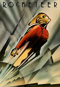 The Rocketeer 1991 Movie poster Bill Campbell
