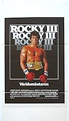 Rocky 3 1982 poster Sylvester Stallone