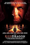 Red Dragon 2002 Movie poster Anthony Hopkins