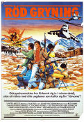 Red Dawn 1984 Movie poster Patrick Swayze