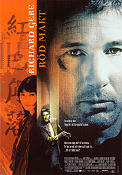 Red Corner 1997 Movie poster Richard Gere