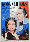 Return of the Scarlet Pimpernel 1937 Movie poster Barry Barnes Alexander Korda
