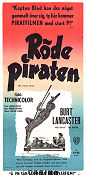 The Crimson Pirate 1953 poster Burt Lancaster