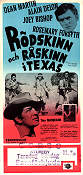 Texas Across the River 1966 poster Dean Martin