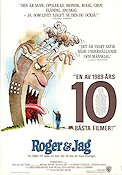 Roger and Me 1990 Movie poster Michael Moore