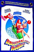 Rollercoaster Rabbit 1989 Movie poster Roger Rabbit