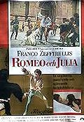Romeo and Juliet 1969 poster Olivia Hussey Franco Zeffirelli