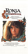 Ronja Robbersdaughter 1984 Movie poster Tage Danielsson